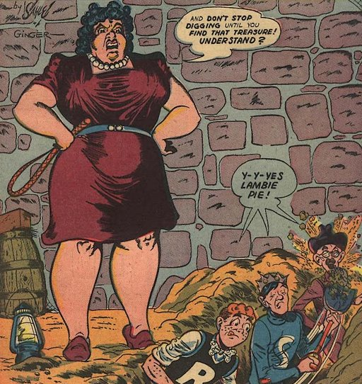 femdom giantess makes archie and jughead dig for treasure