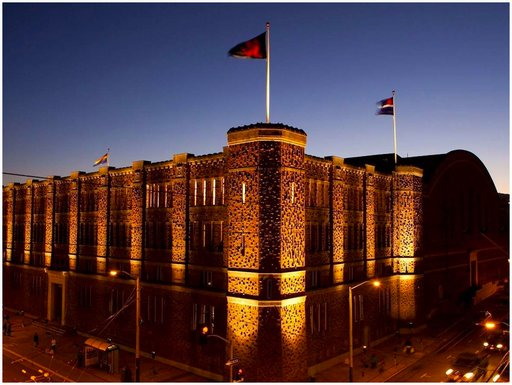 iconic armory building, long the home of Kink.com