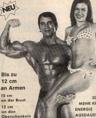 arnold with muscles
