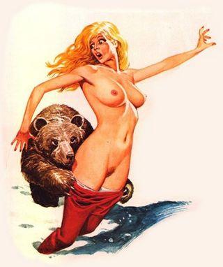 bad bear, no strumpet