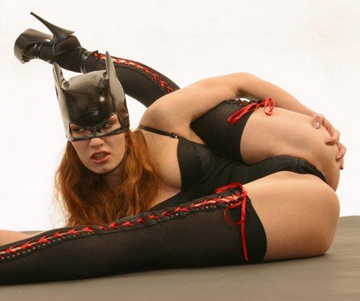 red-headed batgirl