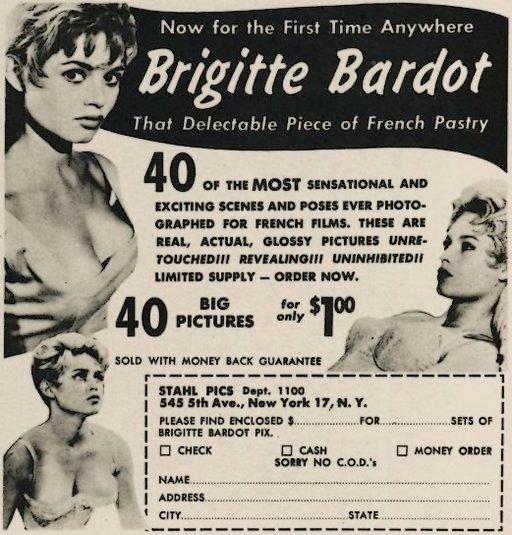 brigitte bardot sexy photos ad