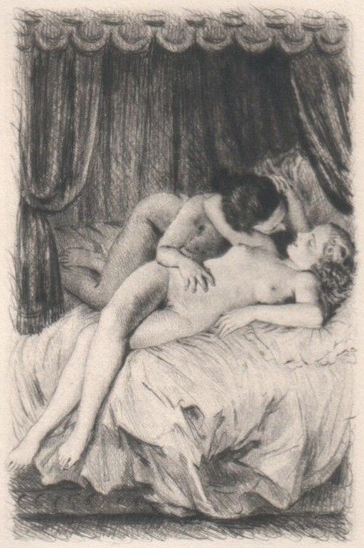 two in bed