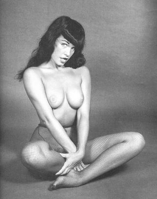 Betty Page topless