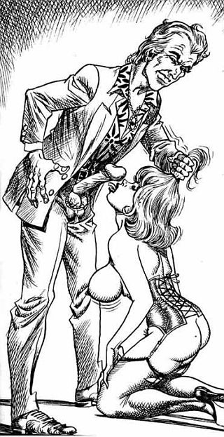 submissive blowjob cartoon by bill ward