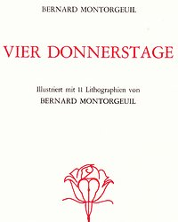 vier donnerstage title page