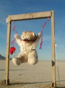 Bondage Bear at Burning Man