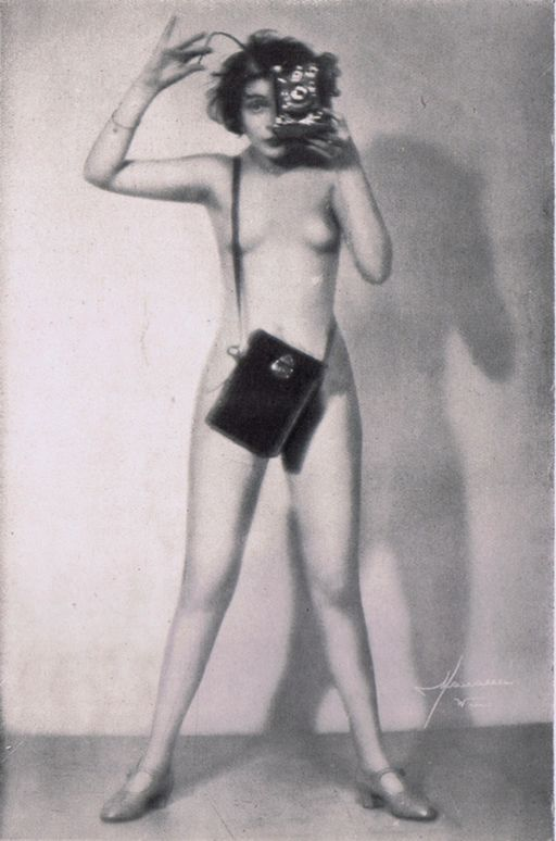 self-shot vintage boobie picture