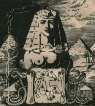 sphinx, with breasts