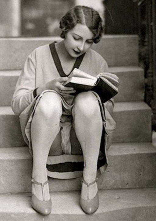 bookworm upskirt