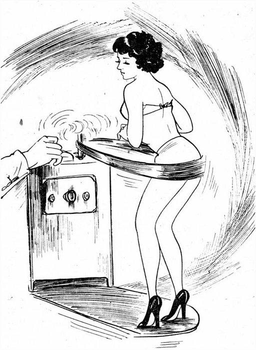 vibrating fat shaker cartoon