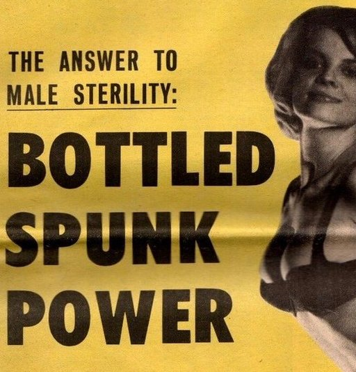 spunk power in a bottle