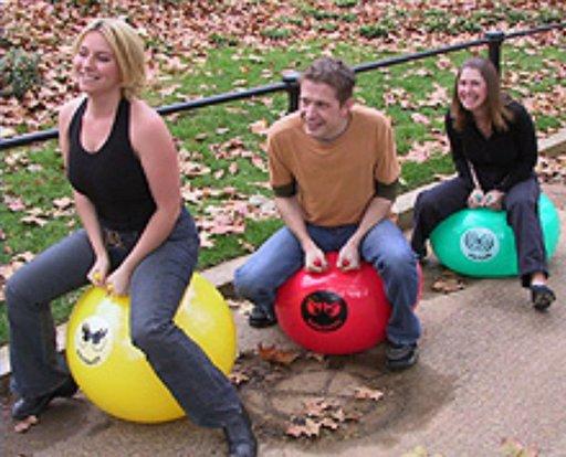 riding balls