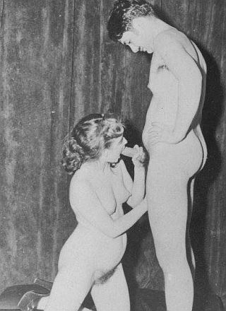vintage blowjob photo