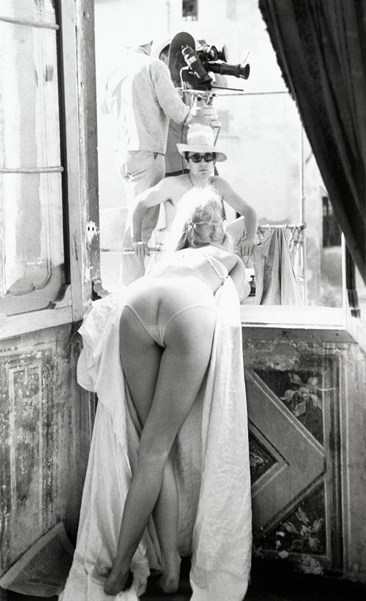 rear view of brigitte bardot and her excellent bottom