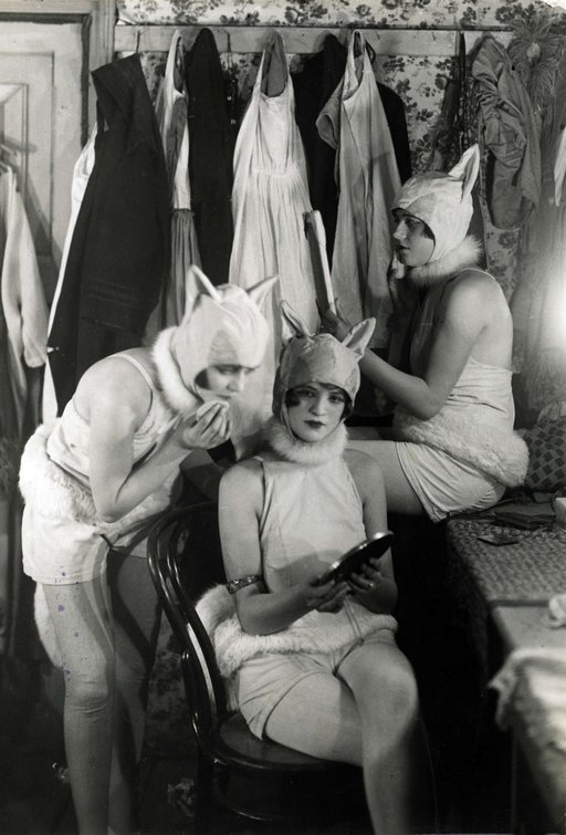 burlesque bunny girls 1926