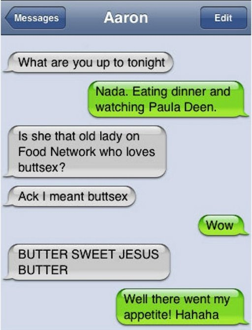 buttsex or butter with paula deen
