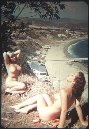 Girls nude in California