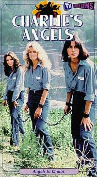 Charlie's Angels in Chain Gang Bondage