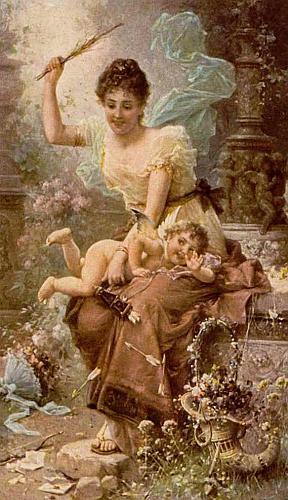 cupid spanking