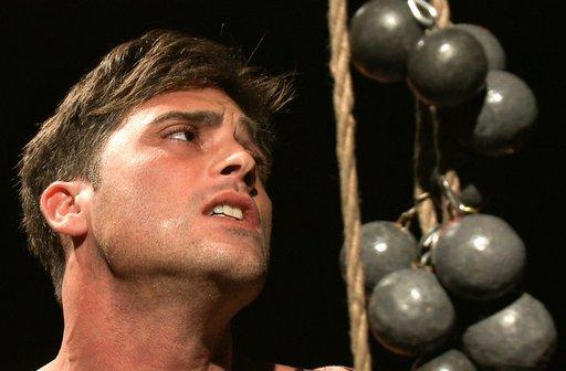 more of Lance Hart's dangling balls