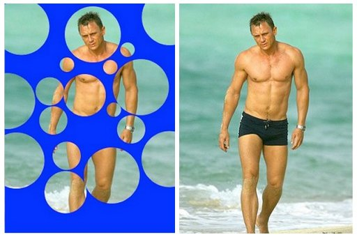 daniel craig bubbled