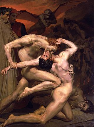 naked man-wrestling