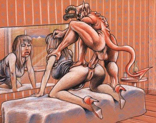 anal sex demon devil