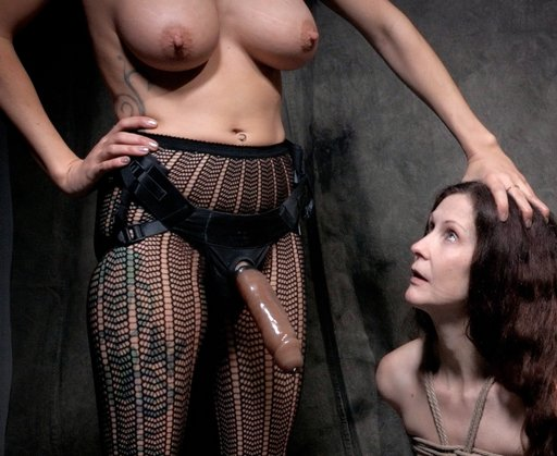 Mrs Wellington enslaved and forced to suck Rain's cock
