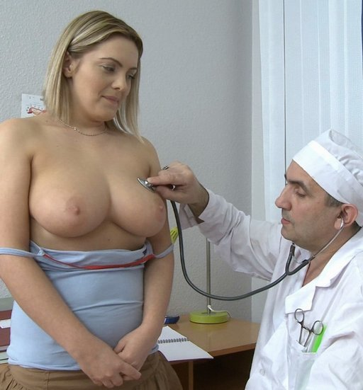 dirty doctor voluptuous chest exam