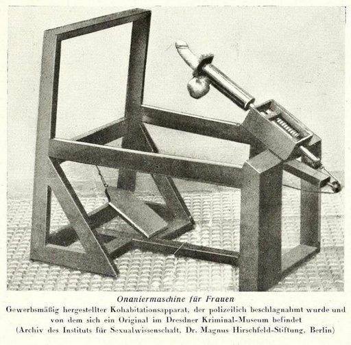 pedal-powered fucking machine