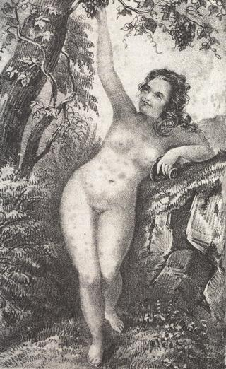 illustration from The Secret Habits Of The Female Sex