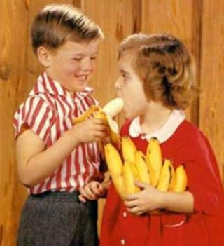 dick and jane eat a banana