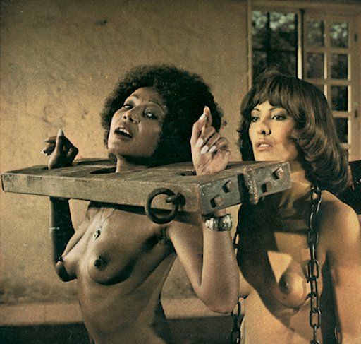 black and white slave girls from Continental Club