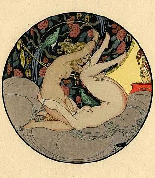 erotic spanking illustration