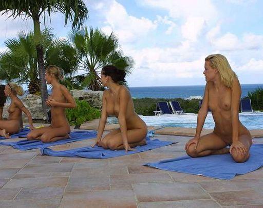 more naked aerobics