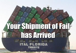 shipment of fail