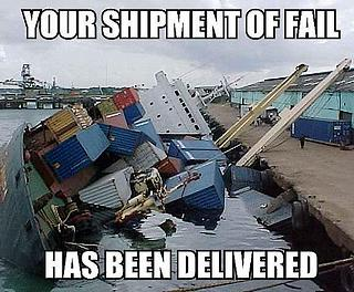 failure delivery