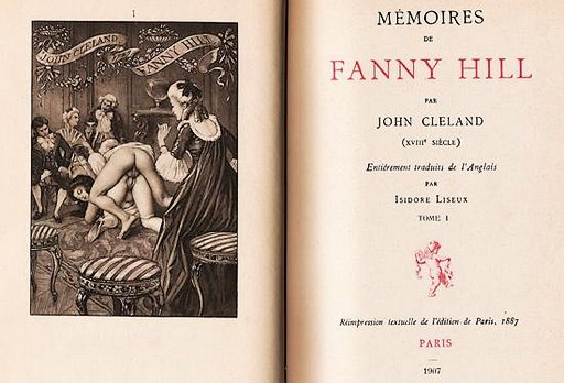 fanny-hill-frontispiece podcast recording audiobook aural spoken word erotica