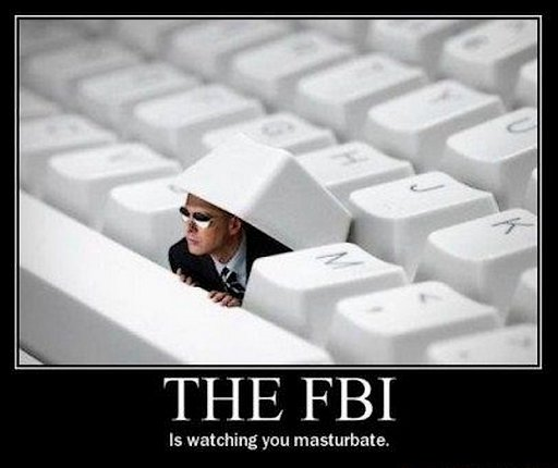 the fbi is watching you date