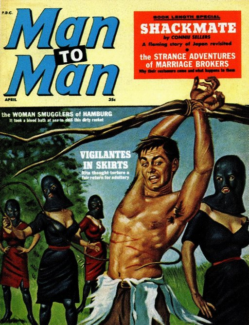 Man to Man cover, April 1961