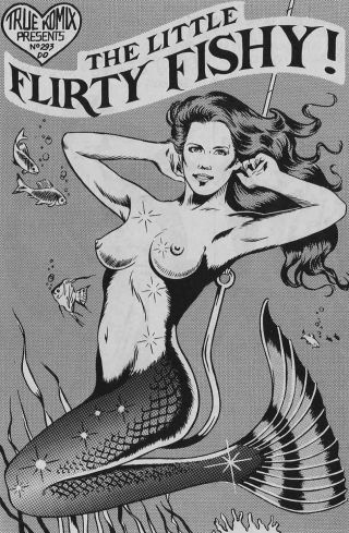 mermaid is bait on a hook