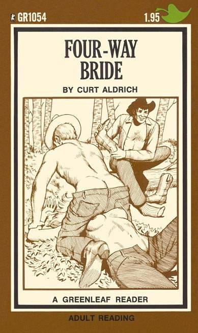 cover art from The Four-Way Bride by Curt Altrich (Greeleaf Press)