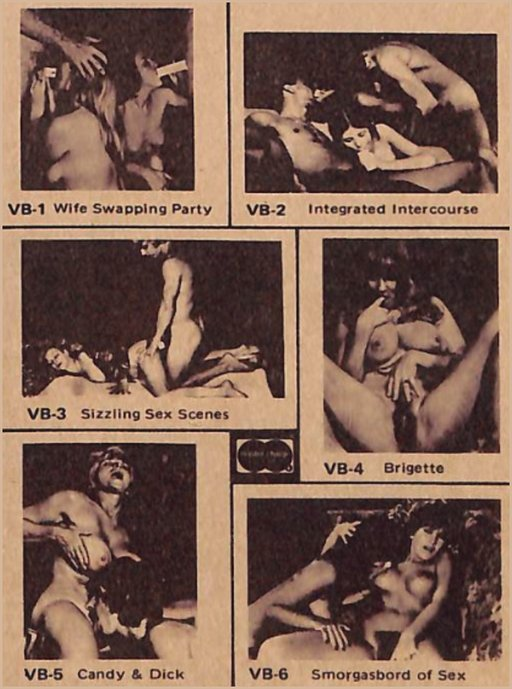1976 8mm porn loops ad from back of November 1976 High Society magazine