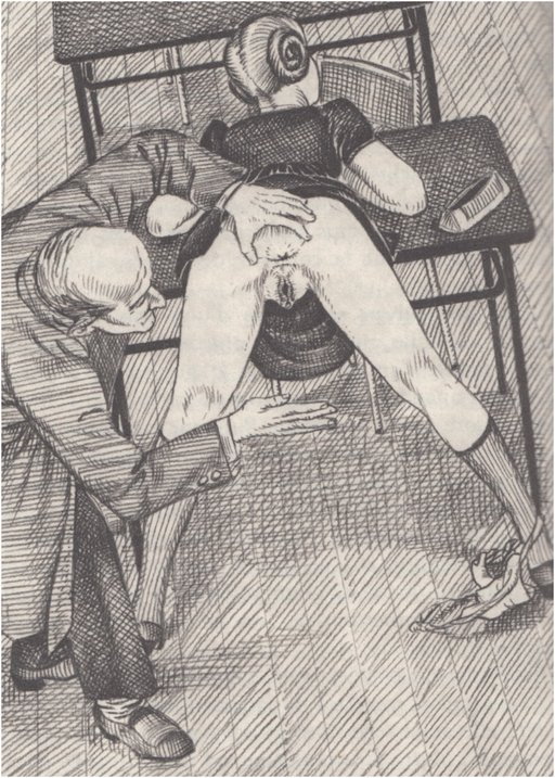 pussy spanking art