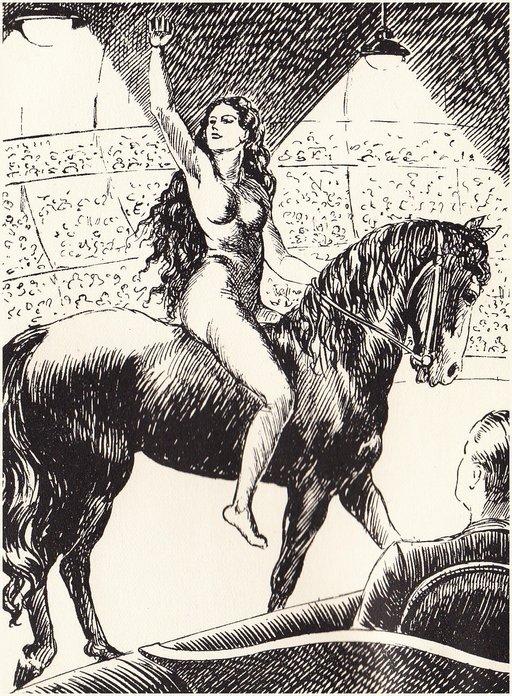 lady godiva circus act