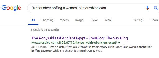 google search result for charioteer boffing