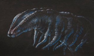 James Cameron\'s maggot monster