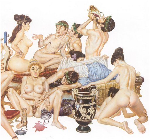 greek orgy scene
