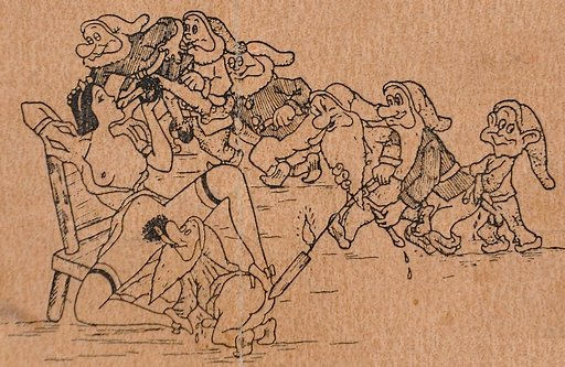 snow white and the seven dwarves orgy